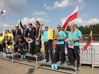 Mistrzostwa w montażu rusztowań - Wilno