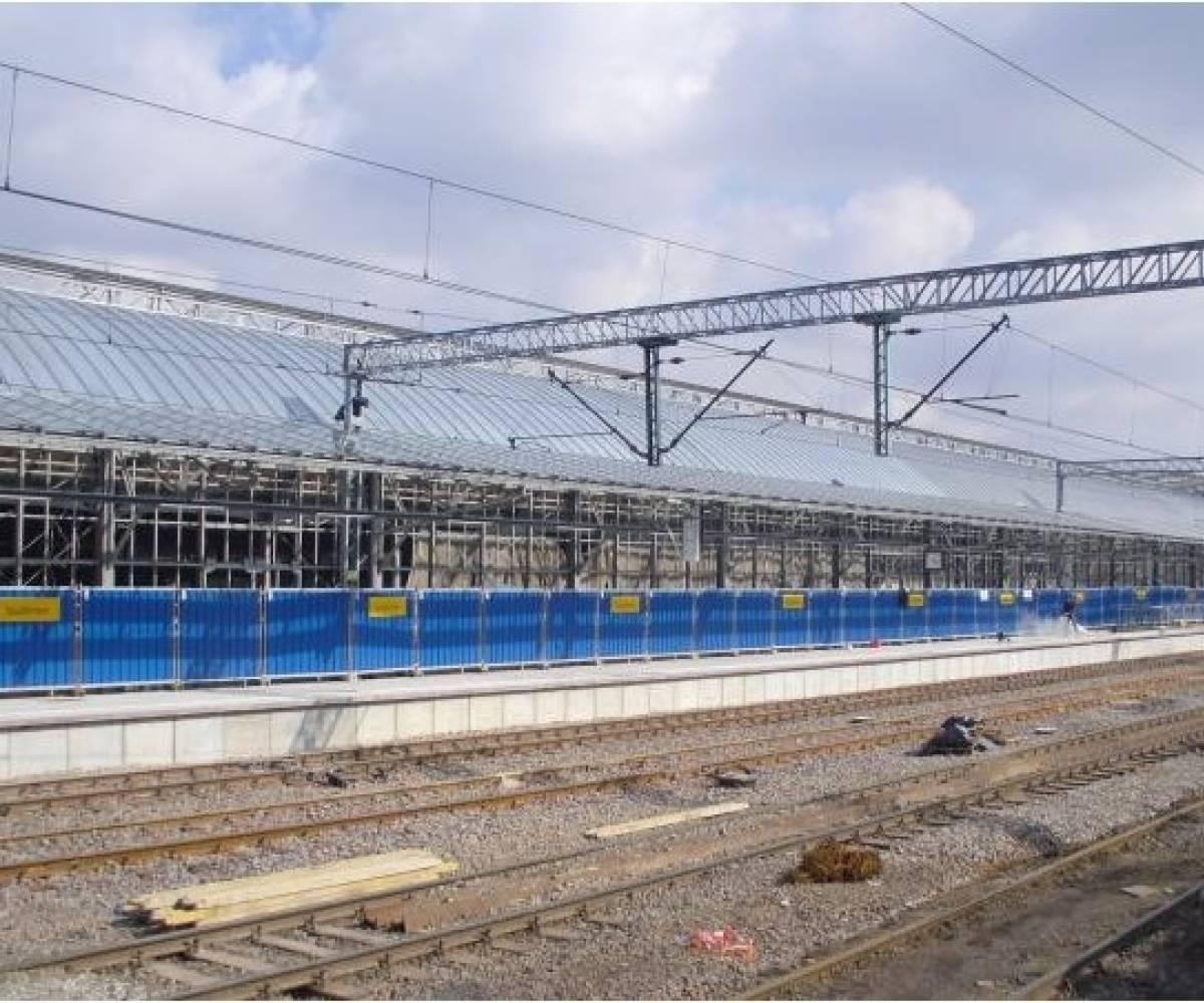 Wrocław 5 peron (Remont Dworca Głównego PKP)