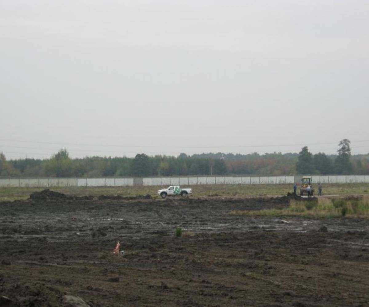 Wrocław ul.Kosmonautów (Budowa Nowego Szpitala Wojewódzkiego) - sprzedaż i montaż ogrodzenia