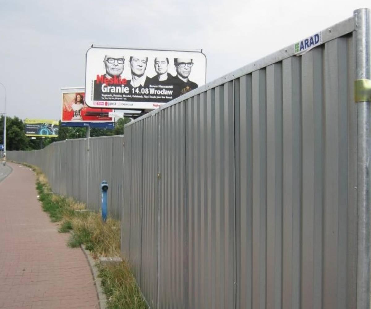 Wrocław ul.Jedności Narodowej (Budowa budynku mieszkalnego)