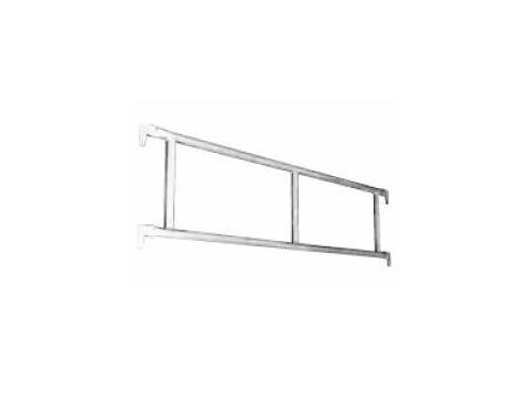 Poręcz podwójna aluminiowa