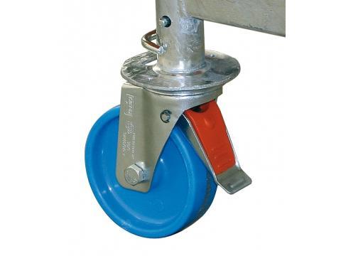 Zestaw rolek jezdnych fi 125 mm